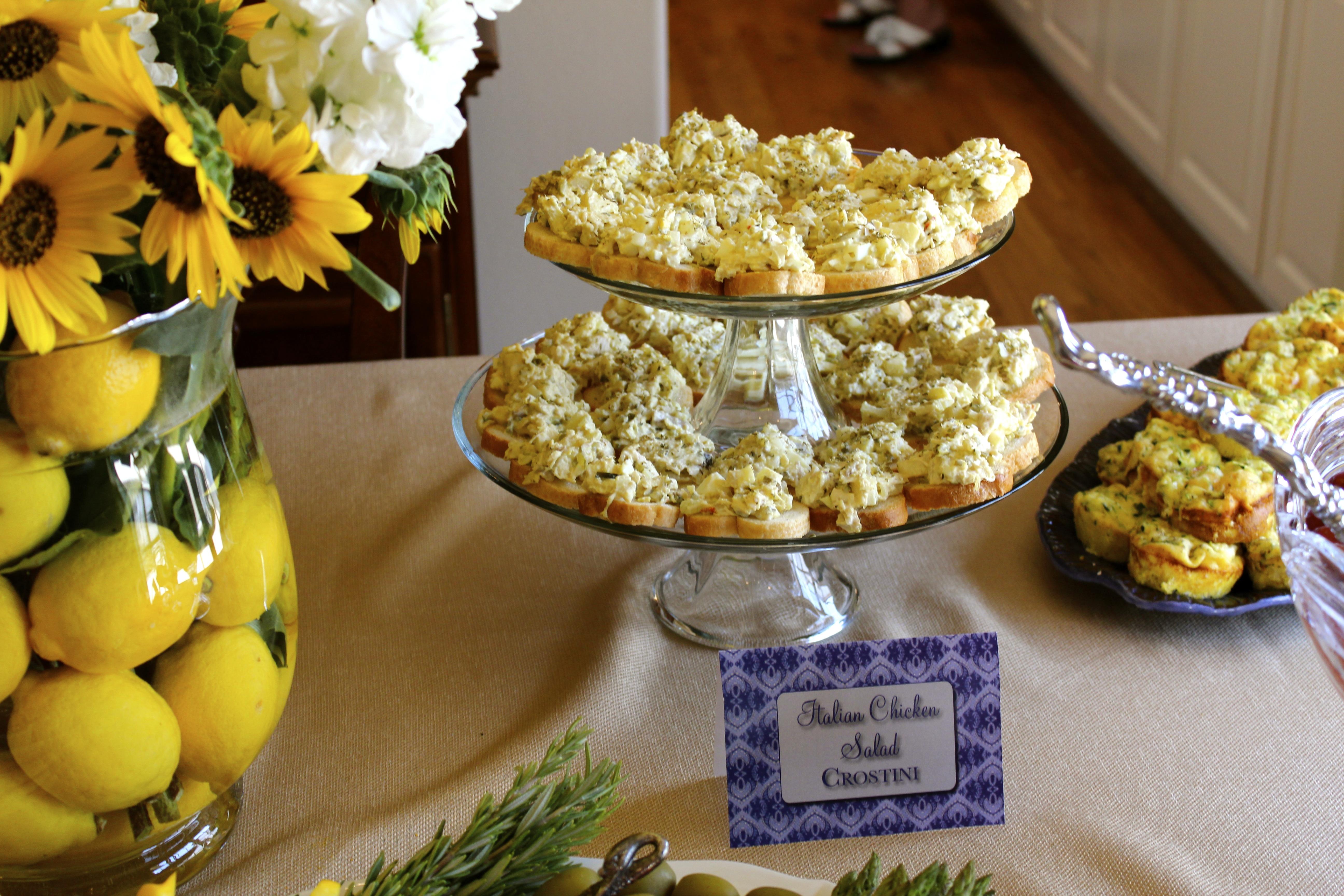 ... crostini recipe chicken salad crostini chicken salad crostini lemon
